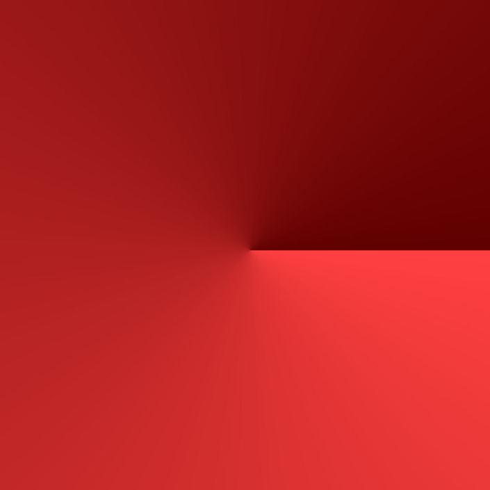 červená barva