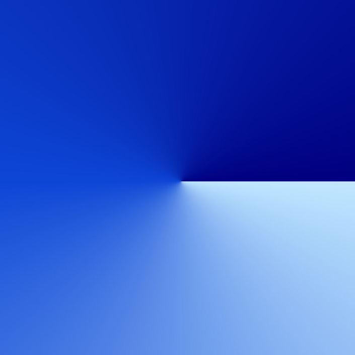 Modrá barva